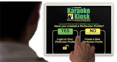 karaoke kosk remote