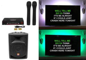 houston karaoke rental system